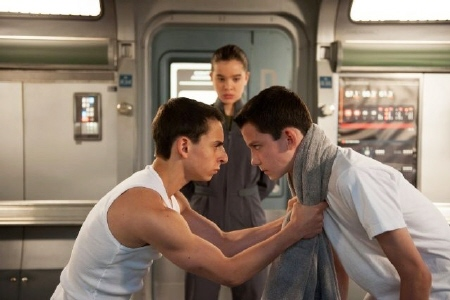Ender and Bonzo  from the Summit Entertainment film Enders Game