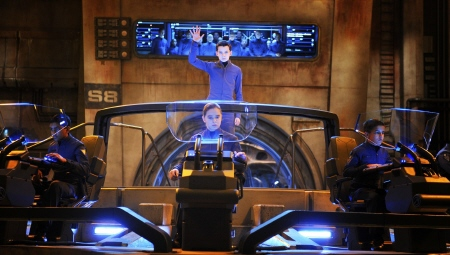 Ender at Command School  from the Summit Entertainment film Enders Game