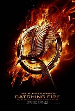 poster from the Lionsgate film Hunger Games 2 Catching Fire