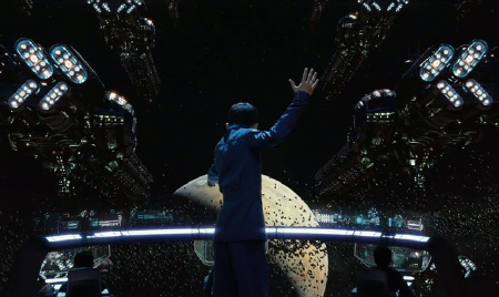 Ender in the simulator  from the Summit Entertainment film Enders Game