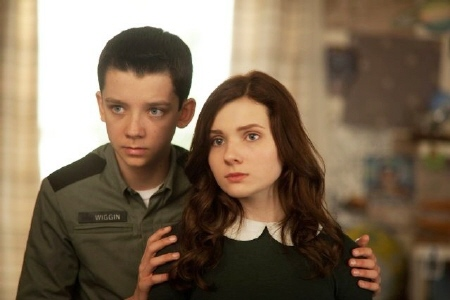 Ender and Valentine from the Summit Entertainment film Enders Game