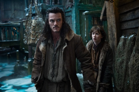 Bard and Baird from the Warner Bros. Pictures film The Hobbit Desolation of Smaug
