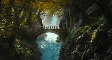 a bridge from the Warner Bros. Pictures film The Hobbit Desolation of Smaug