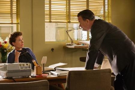 P.L. Travers vs Walt Disney from the Walt Disney Pictures film Saving Mr. Banks