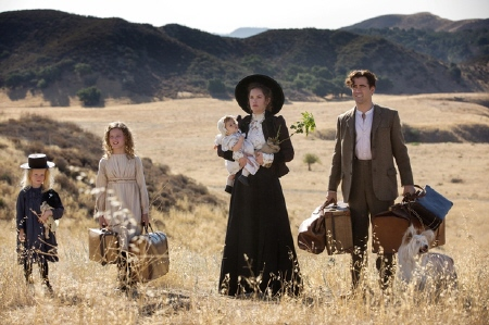 Young P.L. Travers with her family in Australia from the Walt Disney Pictures film Saving Mr. Banks