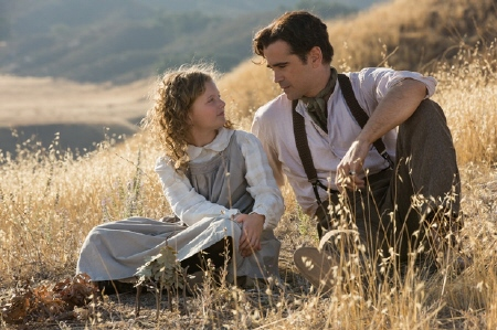 Young P.L. Travers and her father from the Walt Disney Pictures film Saving Mr. Banks