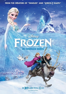 poster from the Walt Disney Pictures film Frozen