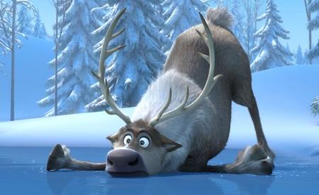 Sven the reindeer from the Walt Disney Pictures film Frozen