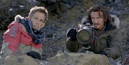 Ben Stiller and Sean Penn from the Twentieth Century Fox Film The Secret Life of Walter Mitty