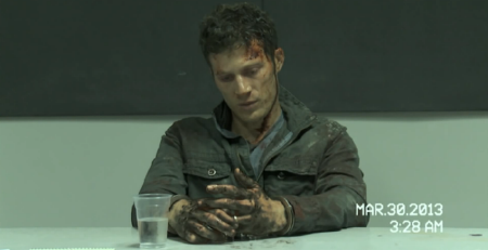 Zach Gilford as discount Dean Winchester from the 20th Century Fox film Devils Due