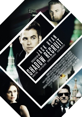 poster from the Paramount Pictures film Jack Ryan Shadow Recruit