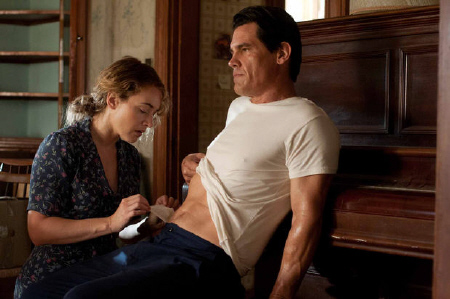 Kate Winslet and Josh Brolin from the Paramount Pictures film Labor Day