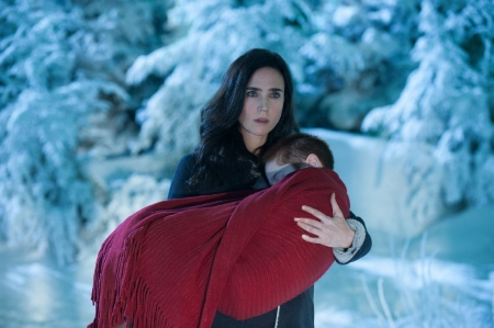 Victoria and Abby from the Warner Bros. Pictures film Winters Tale