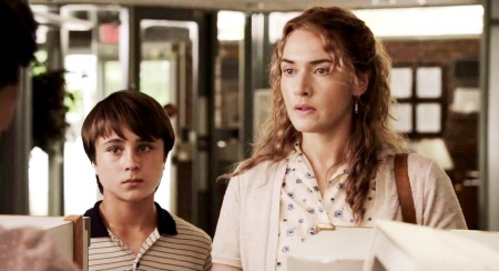 Gattlin Griffith and Kate Winslet from the Paramount Pictures film Labor Day
