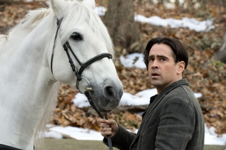 Peter and the horse named Horse from the Warner Bros. Pictures film Winters Tale