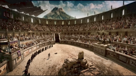 Coliseum from the Sony Pictures film Pompeii