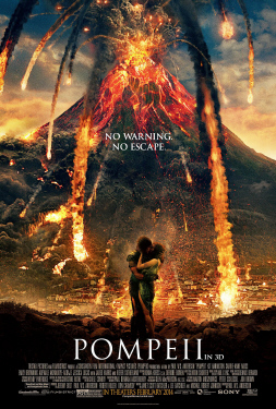 poster from the Sony Pictures film Pompeii