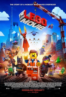 poster from the Warner Bros. Pictures film The LEGO Movie