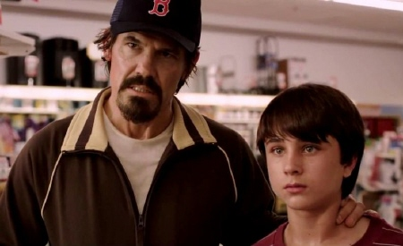 Josh Brolin and Gattlin Griffith from the Paramount Pictures film Labor Day
