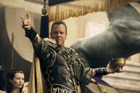 Senator Corvus speaks for Vulcan from the Sony Pictures film Pompeii