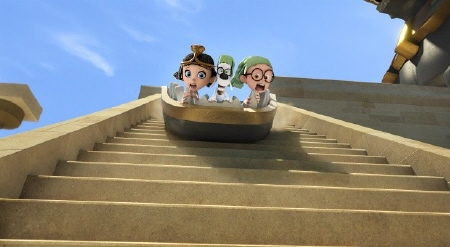 escape from Ancient Egypt from the Dreamworks Pictures film Mr. Peabody and Sherman