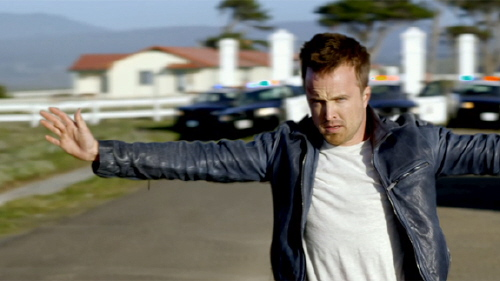 Tobey Marshall is arrested the Walt Disney Pictures film Need for Speed