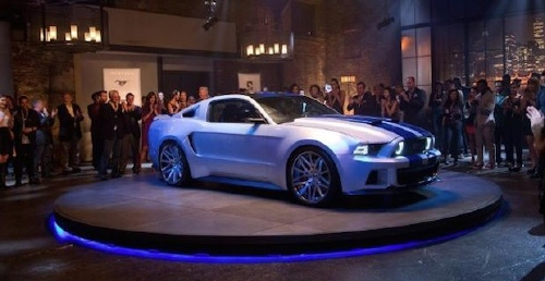 Custom Carroll Shelby Mustang GT500 from the Walt Disney Pictures film Need for Speed