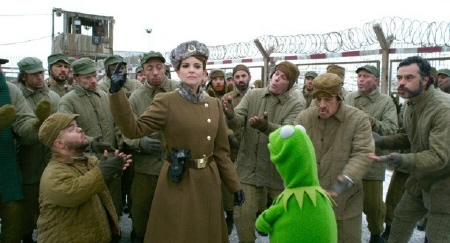 Tina Fey as a gulag guard from the Walt Disney Pictures film Muppets Most Wanted