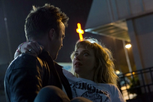 Tobey rescues Julia from the Walt Disney Pictures film Need for Speed