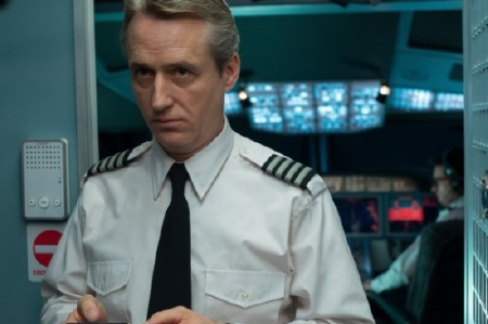 Linus Roache from the Universal Pictures film Non-Stop