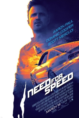 poster from the Walt Disney Pictures film Need for Speed