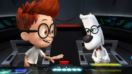 the WABAC from the Dreamworks Pictures film Mr. Peabody and Sherman