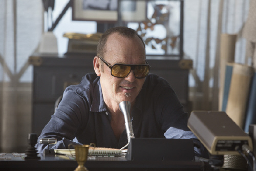 Michael Keaton as Monarch the DJ in the Walt Disney Pictures film Need for Speed