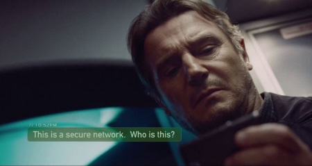 Liam Neeson from the Universal Pictures film Non-Stop