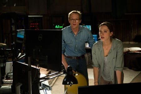 Max and Evelyn download Will in the Warner Bros. Pictures film Transcendence