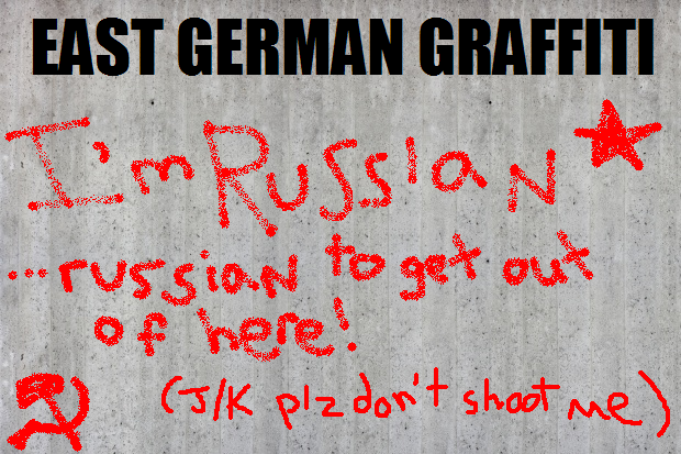 east german graffiti