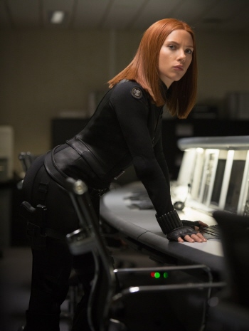 Black Widow from the Marvel Studios film Captain America Winter Soldier