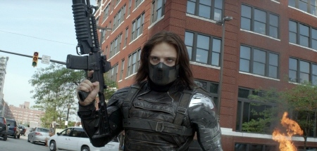 Winter Soldier from the Marvel Studios film Captain America Winter Soldier