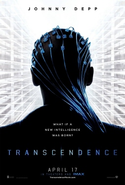 poster from the Warner Bros. Pictures film Transcendence