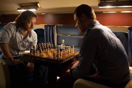 Charles and Erik play chess from the Twentieth Century Fox film X-Men Days of Future Past