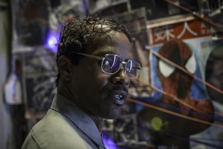 Jamie Foxx as Max Dillon  from the Sony Pictures film Amazing Spider-man 2
