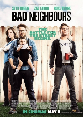 poster from the Universal Pictures film Neighbors