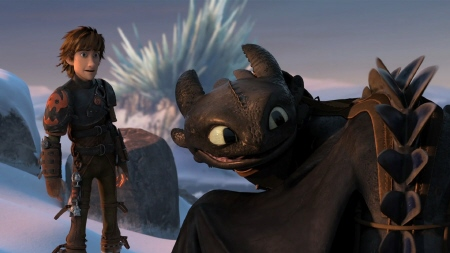 Toothless gets new spikes from the Dreamworks Pictures film How to Train Your Dragon 2
