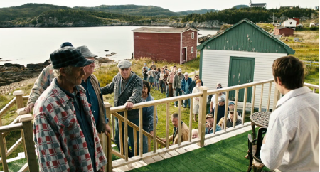 Paul sees a lot of patients from the Entertainment One movie The Grand Seduction