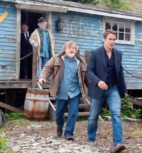 Paul storms out from the Entertainment One movie The Grand Seduction