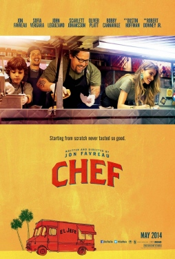 poster  from the Open Road Pictures film Chef