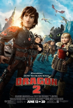 poster from the Dreamworks Pictures film How to Train Your Dragon 2