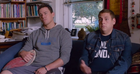 Jenko and Schmit go to therapy from the Columbia Pictures movie 22 Jump Street