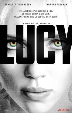 poster from the Universal Pictures Film Lucy