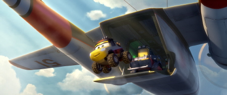 The Smokejumpers from the Disney film Planes Fire and Rescue